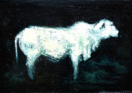 'Bull' Oil on Canvas 2006